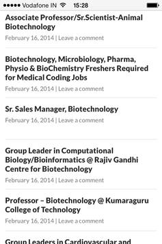 Biotechnology Jobs for Android - APK Download