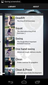 KLFit Kettlebell Trainer apk screenshot
