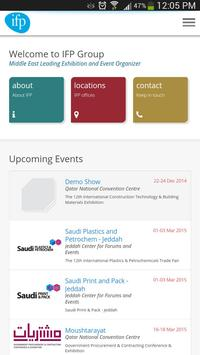 IFP Events poster