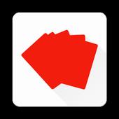 Random card icon