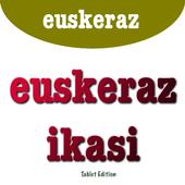 Euskeraz ikasi tablet edition icon