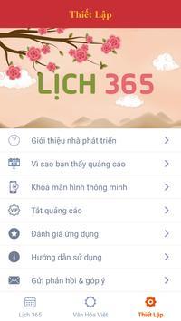 Lich 365 - Lich Van Nien 2018 - Tu Vi 2018 screenshot 5