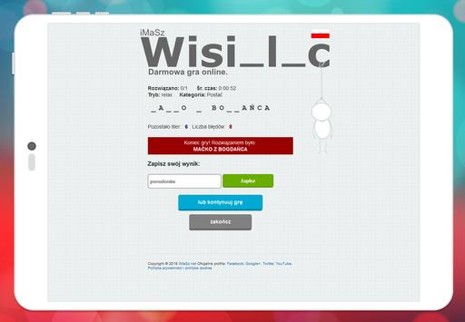 iMaSz Wisielec screenshot 12