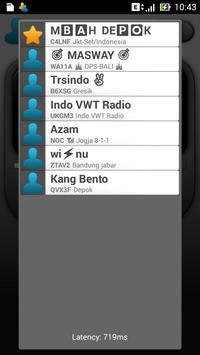 Indonesia Virtual WalkieTalkie screenshot 4