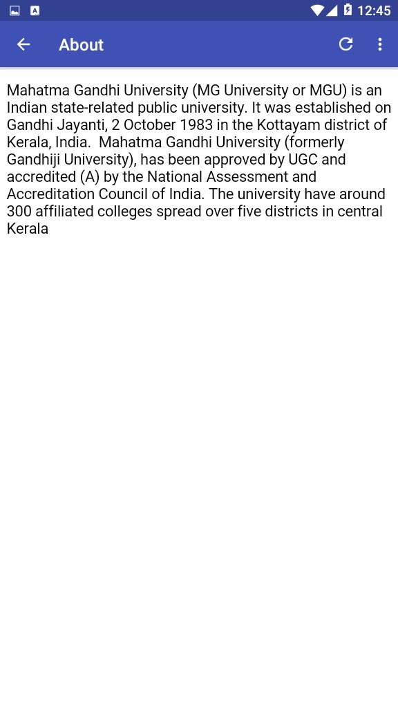 MG University Results & Updates for Android - APK Download