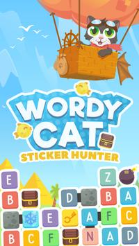 Wordycat poster