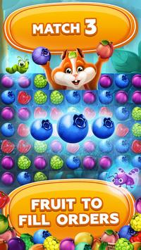 Fruit Hamsters–Farm of Hamsters: Match 3 game Free poster