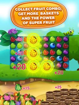 Fruit Hamsters–Farm of Hamsters: Match 3 game Free screenshot 10