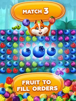 Fruit Hamsters–Farm of Hamsters: Match 3 game Free screenshot 14