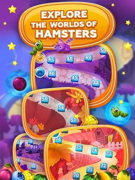 Fruit Hamsters–Farm of Hamsters: Match 3 game Free screenshot 15
