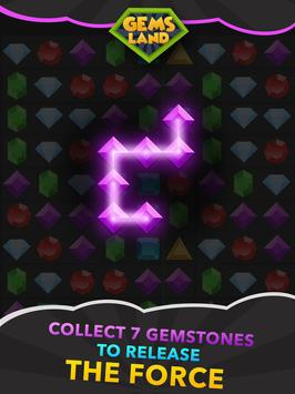 Gems Land-new free match 3 game, connect the dots! apk screenshot