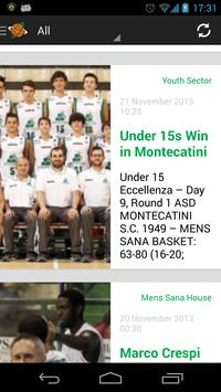 Mens Sana Basket screenshot 1