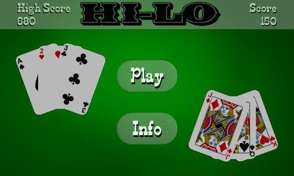 Hi-Lo (High Low) poster