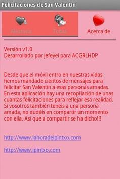 Felicitaciones de San Valentin screenshot 3