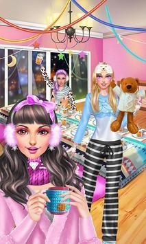 Winter PJ Party: BFF Sleepover screenshot 4