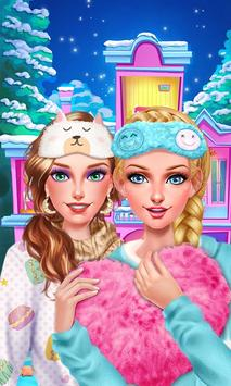 Winter PJ Party: BFF Sleepover poster