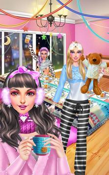 Winter PJ Party: BFF Sleepover screenshot 14