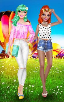 Hair Fashion Summer Girl Salon screenshot 7