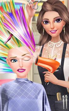 Hair Fashion Summer Girl Salon poster