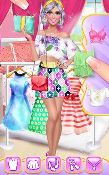 Hair Fashion Summer Girl Salon screenshot 14