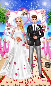 Seaside Wedding Salon Girl SPA poster
