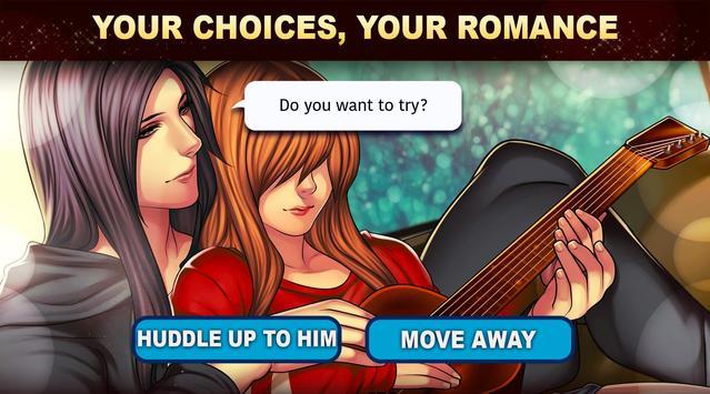 Is-it Love? Colin: Choose your story - Love & Rock imagem de tela 10