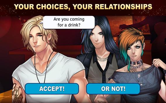 Is-it Love? Colin: Choose your story - Love & Rock imagem de tela 9