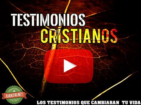 Testimonios Cristianos poster
