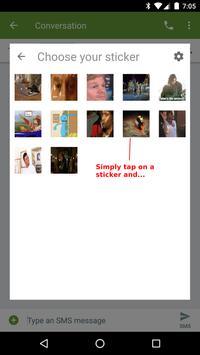 Universal Chat Stickers screenshot 1