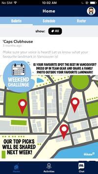 'Caps Clubhouse screenshot 3