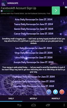 HOROSCOPE apk screenshot
