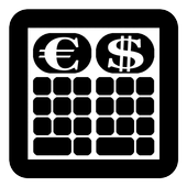 Calculator Currency2 rates exchange icon