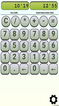 Calculator Currency2 rates exchange screenshot 7