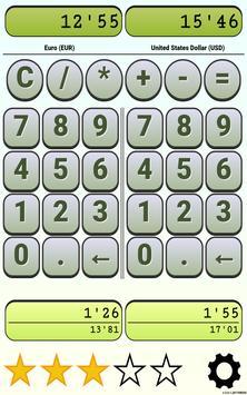 Calculator Currency2 rates exchange screenshot 8