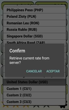 Calculator Currency2 rates exchange screenshot 13