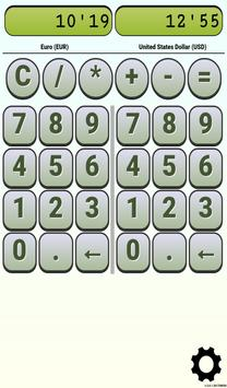 Calculator Currency2 rates exchange screenshot 23