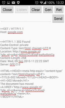 TCP - Basic server and client apk screenshot