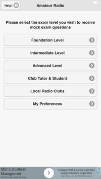 UK Amateur (Ham) Radio Tests apk screenshot