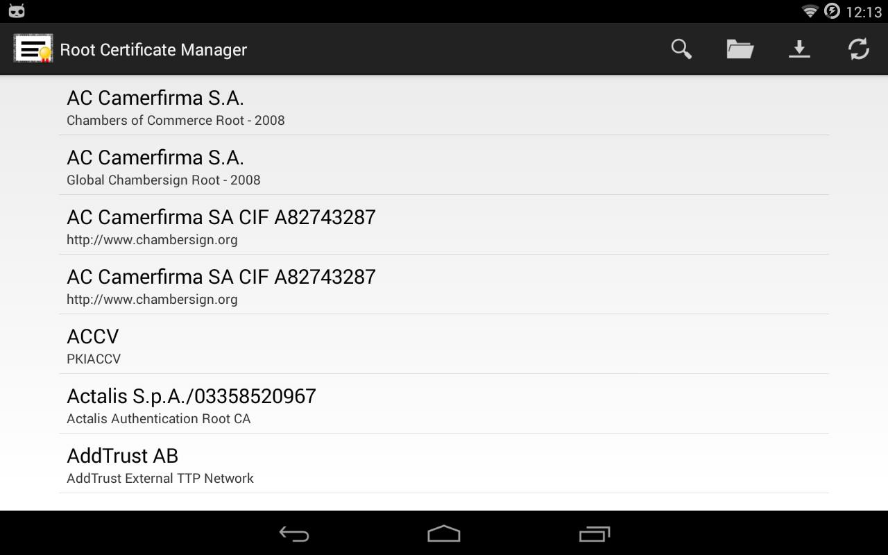 root certificate manager apkpure apk app cert upgrade android internet fast using save data