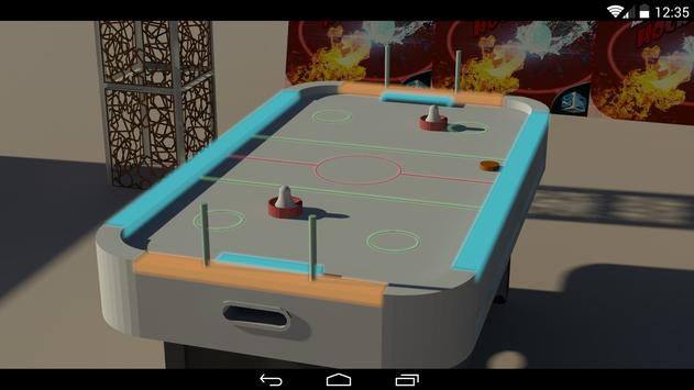 Glow Air Hockey 3D screenshot 4