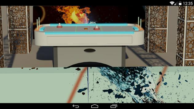 Glow Air Hockey 3D screenshot 6