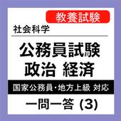 公務員試験 政治経済 一問一答 (3) 市場経済 icon