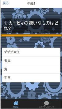 クイズfor横スクロールアクション「星のカービィ」非公認検定 screenshot 7