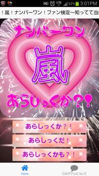 ファン検定!ナンバーワン!嵐!〜知ってて当然でしょ?!〜 poster