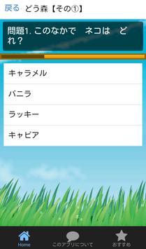 クイズforどうぶつの森 apk screenshot