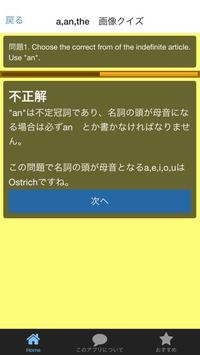 Article Quiz (冠詞クイズ) screenshot 4