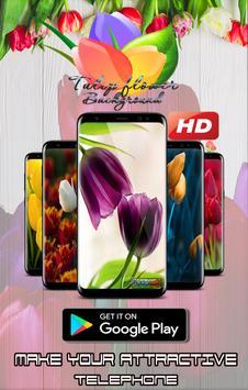HD Tulip flower Backgrounds screenshot 8