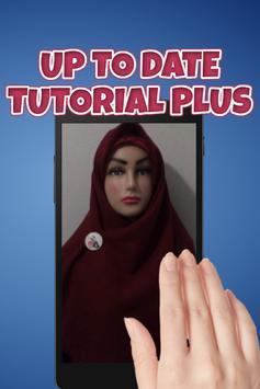 Tutorial Hijab Segi Empat Syar'i poster