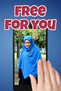 Tutorial Hijab Segi Empat Syar'i screenshot 1