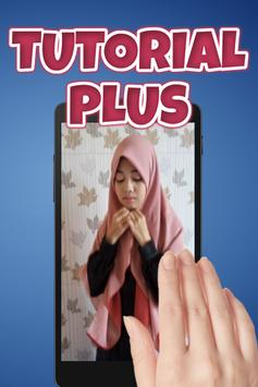 Tutorial Hijab Segi Empat Syar'i screenshot 2